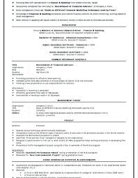Resume Free Template mba fresher resume sample – Resume Bank