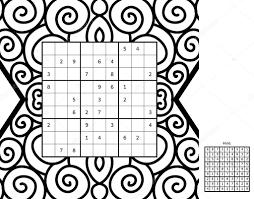 Nummer Plaats Wiskundige Puzzels Stockvector Albisoima 111791800