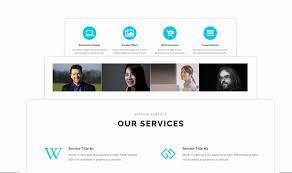 Free Parallax Website Template Awesome Free E Page Wordpress Theme