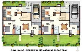 Orchids Kovai   Row Houses   Floor plansFloor plans