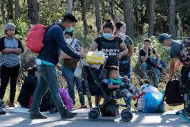 Migrant caravan demands Biden administration 'honors its commitments'