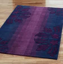blue and purple area rug
