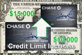 Credit Line Increase Chase Ink Business Credit Card Interunet