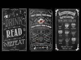 Chalkboard Menu Templates How To Design Chalkboard Menu In Photoshop 20 Editable Templates