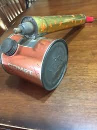 garden duster. Vintage Hudson Pest Bug Sprayer Duster Plastichandle Metaltank Old Rustic Garden