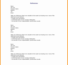 Resume Templates Wonderful Reference Page Template Word References