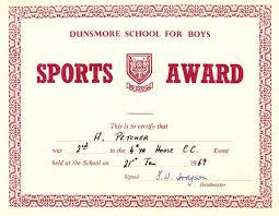 Sports Certificate In Pdf Sport Achievement Certificates Example for Free Award Sports 1