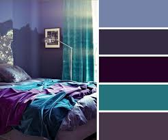 Endearing Purple And Blue Bedroom Color Schemes And 20 Home Decor Ideas And  Turquoise Color Combinations