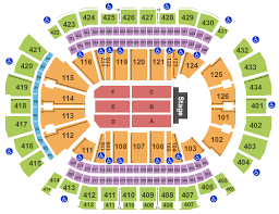 Toyota Center Detailed Seating Chart The Eagles Tickets Fri Mar 6 2020 8 00 Pm At Toyota Center