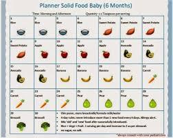 Babies Menu Planner Planner Solid Food Baby 6bulan Recipes Babycenter
