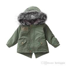 the new winter coats kids winter jacket baby girl clothes fur coat children wear boys girls large fur collar windbreaker coat baby boy winter coat girls