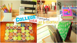 Back To School College Dorm Room Organization Ideas Diy