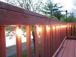 diy deck lighting.  Lighting 1000w Strings Outdoor Deck Ideas Best For Led Railing Fascinating  String Lights With Diy Lighting