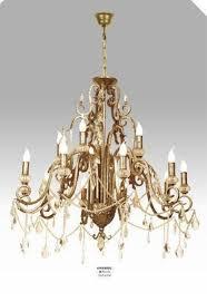 Casa Padrino Luxus Barock Kronleuchter Mit Echten Glaskristallen Gold Antik Look 10 Flammiger Lüster Durchmesser 90 Cm Feinste Qualität