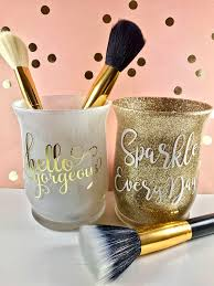 mason jar makeup brush holder. a personal favorite from my etsy shop https://www.etsy.com. makeup brush holdersmakeup mason jar holder