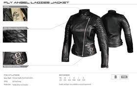 nexo fly angel women motorcycle jacket