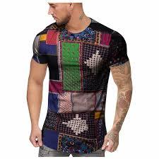 2019 Men T shirt <b>Newest Fashion</b> O Neck Casual <b>Summer</b> ...