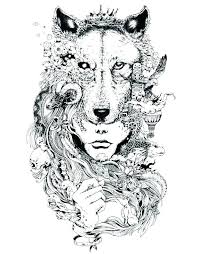 Wolf Coloring Pages To Print Free Wolf Coloring Pages Printable For