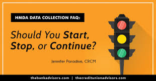 Hmda Data Collection Faq Should You Start Stop Or Continue