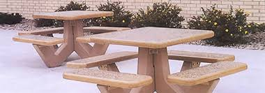 latest craze european outdoor furniture cement. Concrete Picnic Table Latest Craze European Outdoor Furniture Cement E