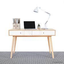 Looking for Scandinavian office desks? Check out the Jorgen Scandinavian  Style Office Desk, complete