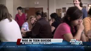 Media blamed teen suicide
