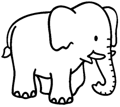 Small Picture Elephant coloring pages for preschooler ColoringStar