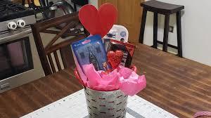 giftbasket valentines giftforhim diy valentines gift basket for him