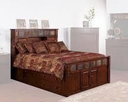 Sunny Designs Bedroom Furniture Bed W Storage Headboard Santa Fe By Sunny Designs Su 2322dc S