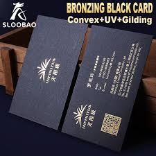 Letter Press Business Card Us 110 0 Free Desgin Custom Letterpress Business Card Print High Quality 350gsm Black Paper Gold Silve Foil Stamping Nama Card In Garment Tags From
