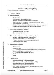 Childminding Policies Templates Safeguarding Policy For Childminders ...