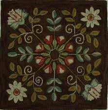 latch hook rug pattern maker awesome 90 best hooked rugs fl images on