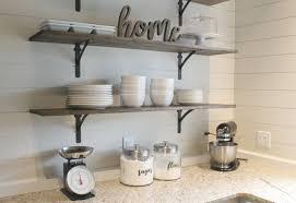 diy kitchen shelves for under 100 how
