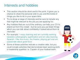 40hobbies And Interests In Resume Ledger Form Magnificent Hobbies And Interests For Resume Example