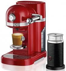 kitchenaid 5kes0504aca nespresso coffee machine candy apple red appliances
