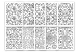 Many cultures used them throughout the centuries as a part of their. 10 Relaxing Coloring Pages For Adult Graphic By Doridodesign Creative Fabrica
