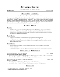 Resume Structure 1 Formats Format 001
