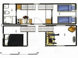 Tiny house plans  Tiny house and Floor space on Pinterest x tiny house plans   x portable tiny house on trailer  Total of sq