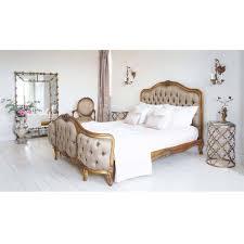 Gold Bedside table