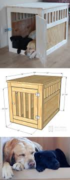 deluxe wooden dog crate