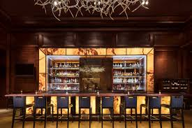 Restaurant bar lighting Ultra Modern Pled Lighting Above The Bar At Fearings The Johnson Studiodesigned Restaurant In The Dallas Ritzcarlton Architectural Digest The Restaurant Design Trends Youll See Everywhere In 2018