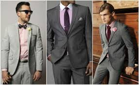 Light Grey Suit With Burgundy Tie Suit And Tie Combinations With A Pink Shirt Pink Suit Men
