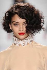 short hairstyle for thick curly frizzy hair