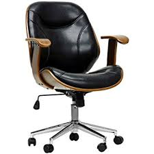modern office chairs cheap. Baxton Studio Rathburn Modern Office Chair, Walnut/Black Chairs Cheap R