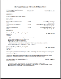 Best Listing Education On Resume Examples Photos - Simple resume .