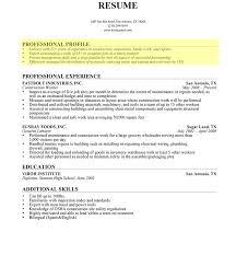 Resume Profile Samples Stunning 8319 Impressive Resumefile Template Adorable Sample Statements In