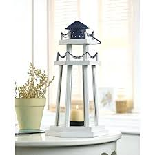lighthouse point wooden candle lantern lanterns tall wood