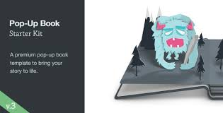 Popup Book Template Pop Up Book Starter Kit Free After Effects Templates
