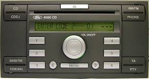radio cd sony 6000 ford