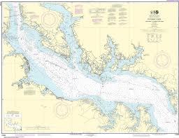 Noaa Nautical Chart 12286 Potomac River Piney Point To Lower Cedar Point